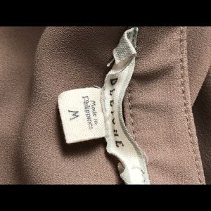 Pleione Tops - Camel/tan blouse. Build your work wardrobe!